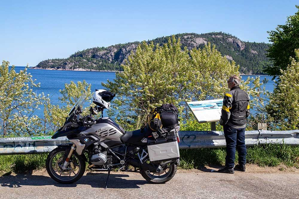 alona bay scenic lookout hwy 17 lake superior
