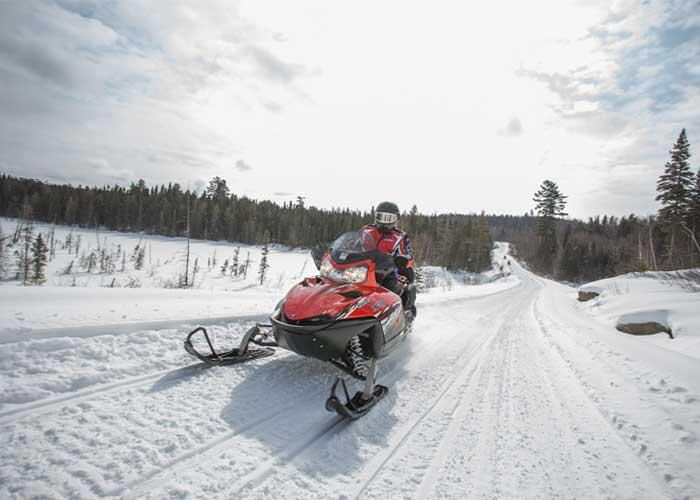 algoma trails top D snowmobile m lortz