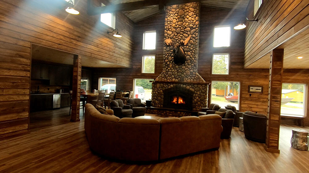 Inside of the Lodge