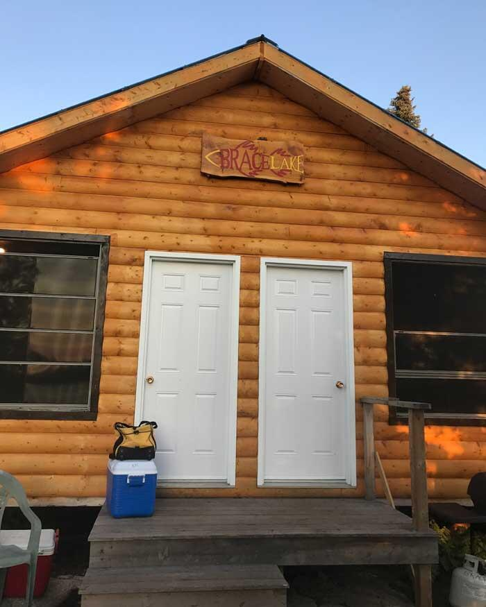 brace lake outfitters cabin