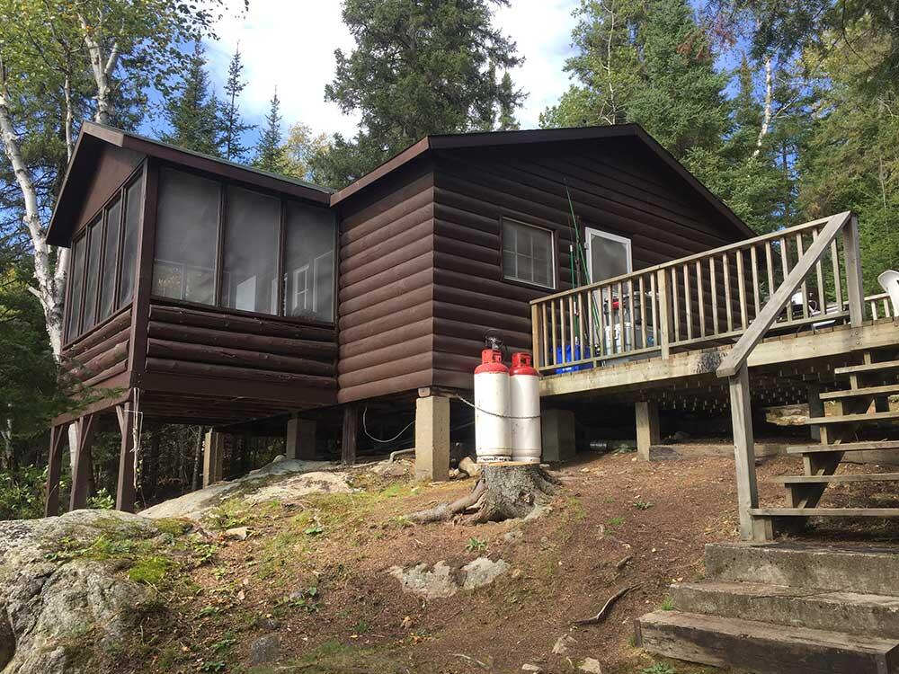 ritchie's end of trail cabin