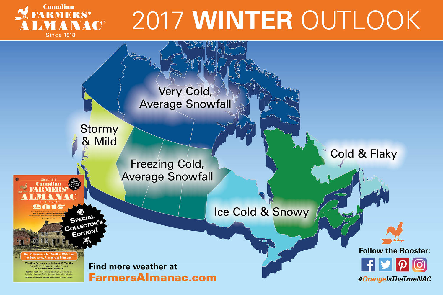 Winter Weather Forecast 2016 2017 Northern Ontario Travel