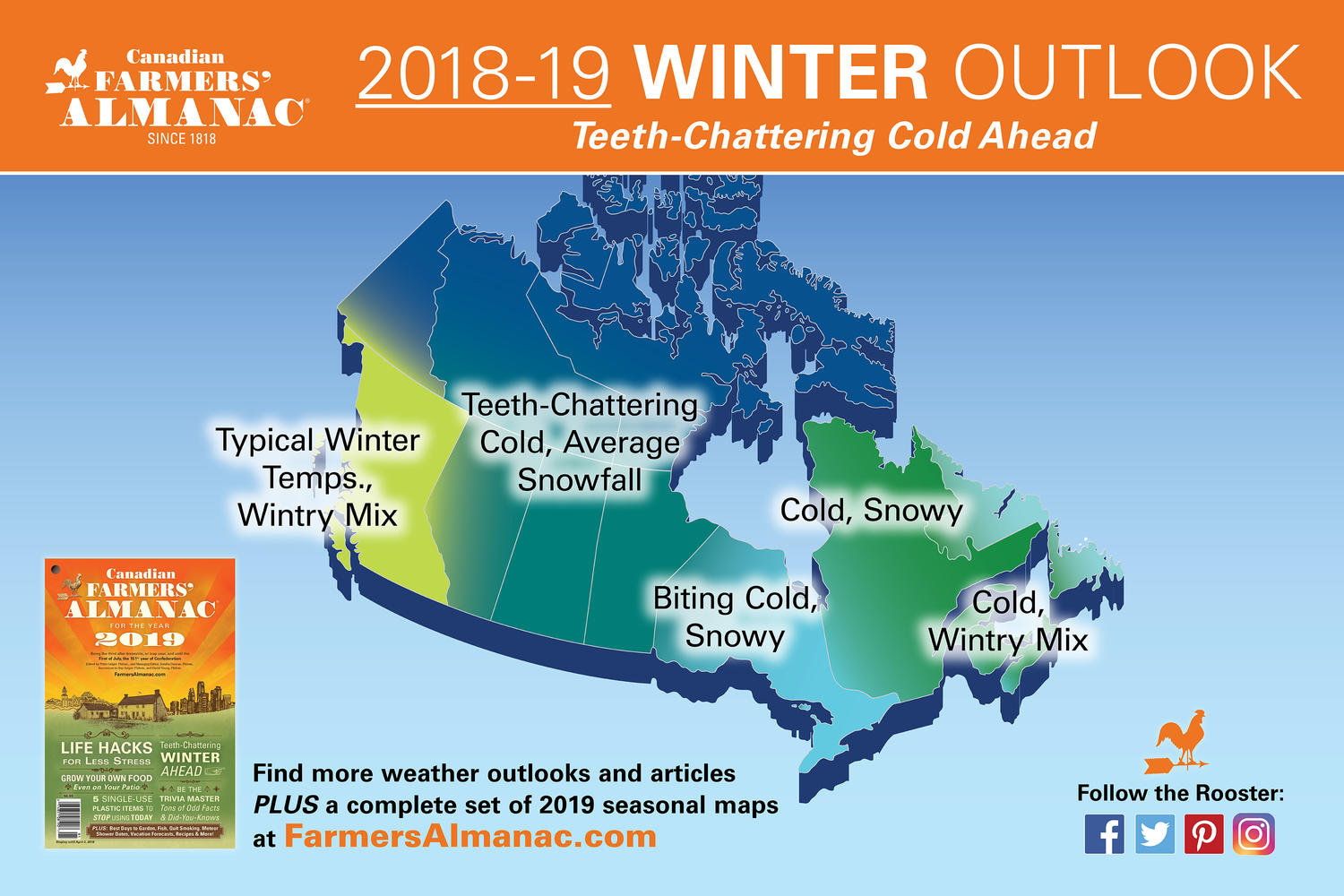 Winter Weather Forecast 2018 2019—Ontario Snowmobilers in for a Great Season Ahead | Northern ...