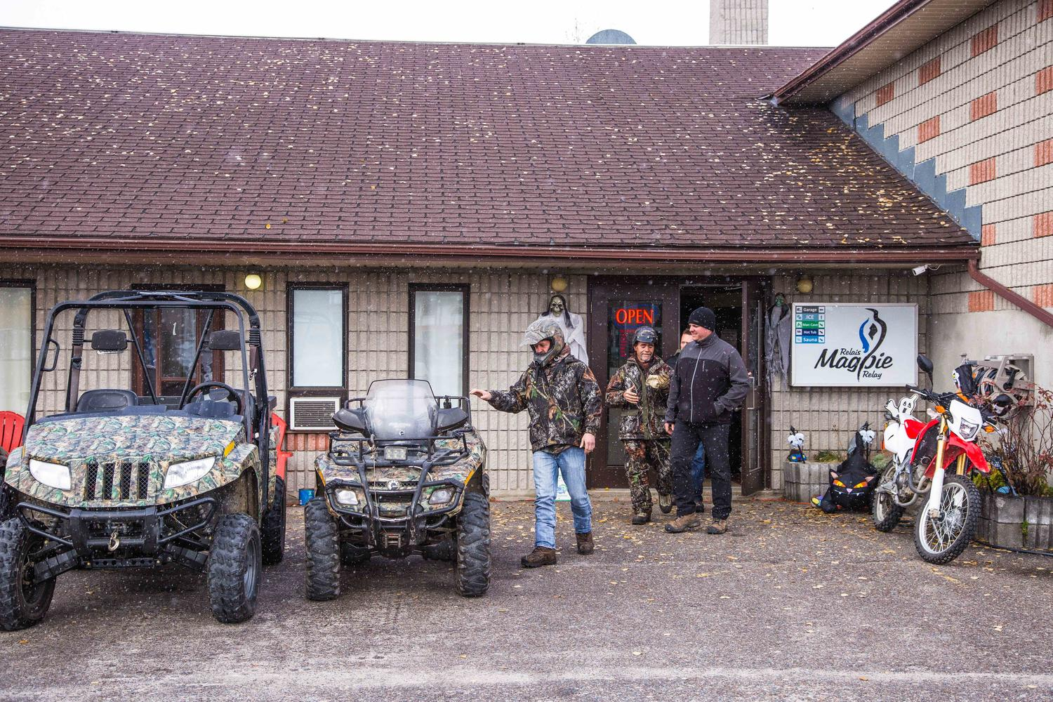 Man Cave Northwestern Ontario : Off road and atv trails in dubreuilville northern