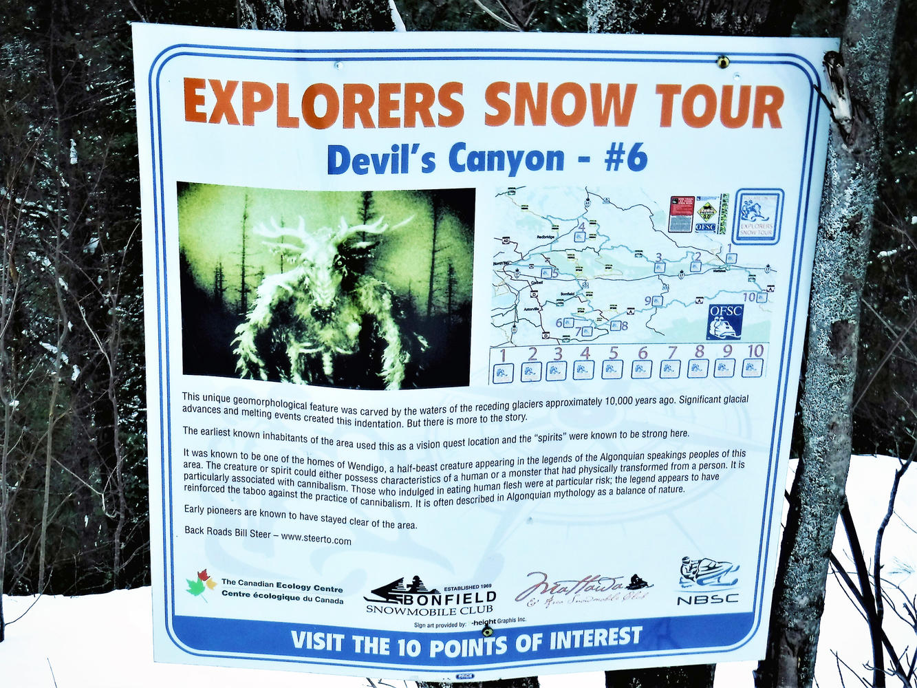 OFSC Tour Loop - The Explorers Snow Tour - Devil's Canyon