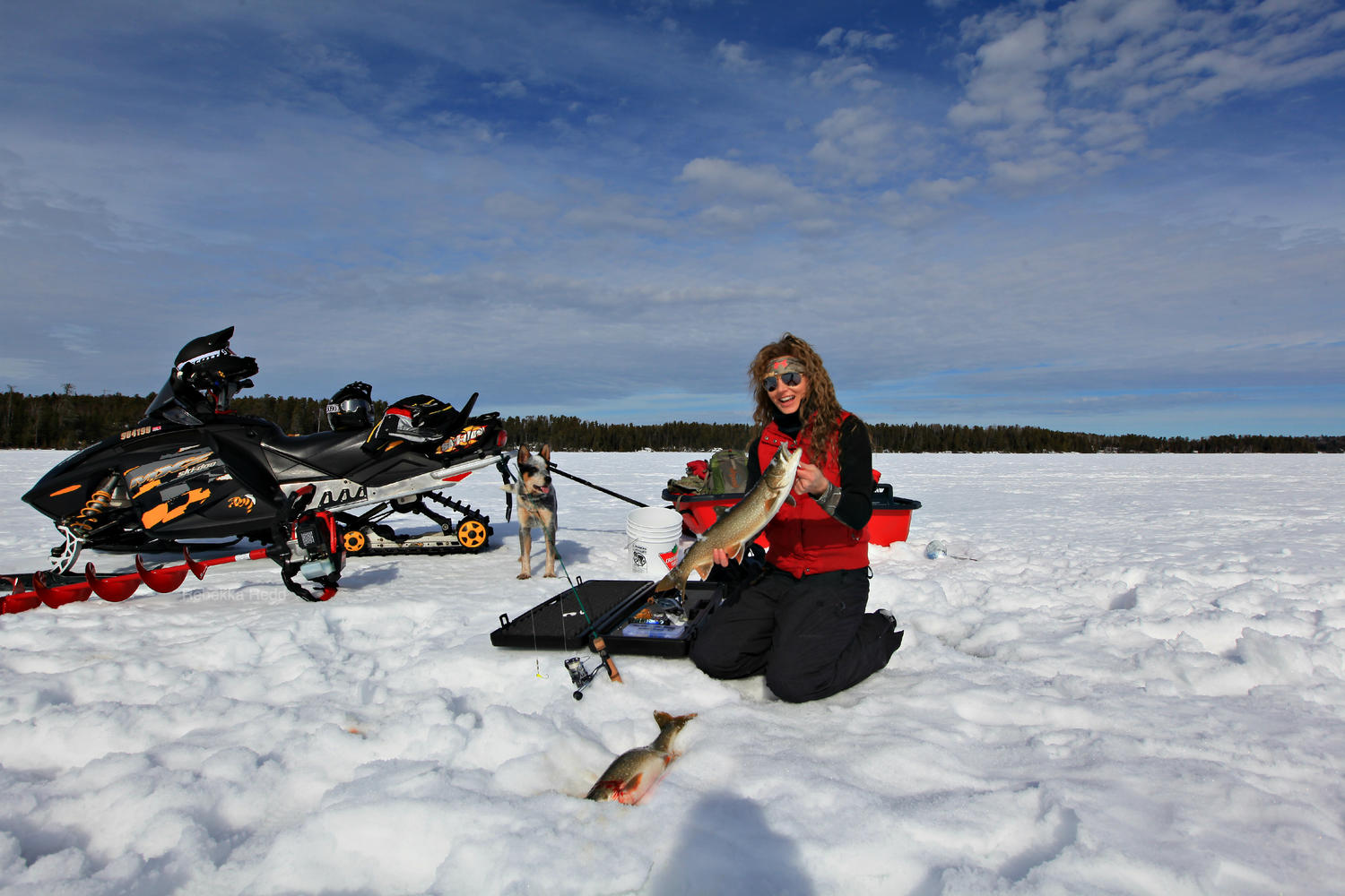 Winter fishing: a selection of sites