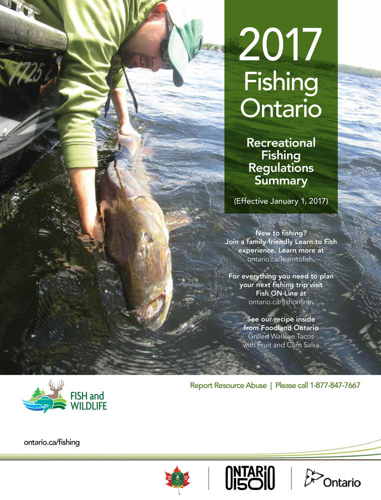 How to get or renew your ontario outdoors card or for Renew fishing license