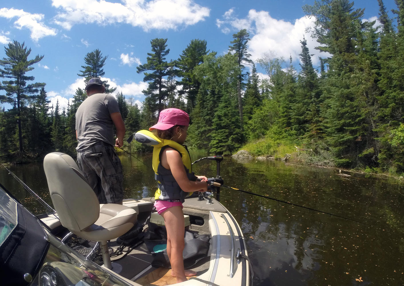 Best age to take a kid fishing to canada northern for What age do you need a fishing license in texas