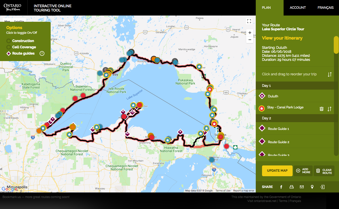 Top 10 Motorcycle Routes in Ontario for 2018 | Northern Ontario Travel