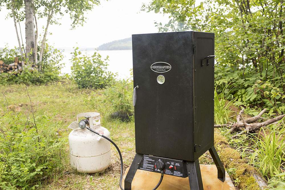 Commercial Propane Smoker