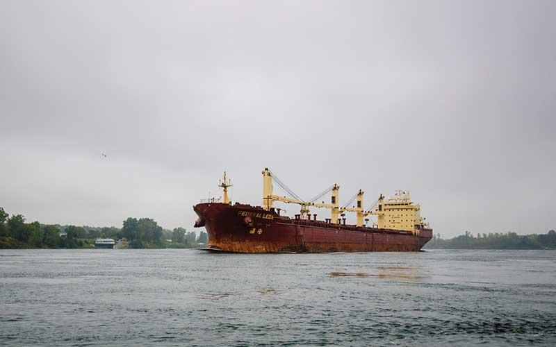 ocean line on st. lawrence river
