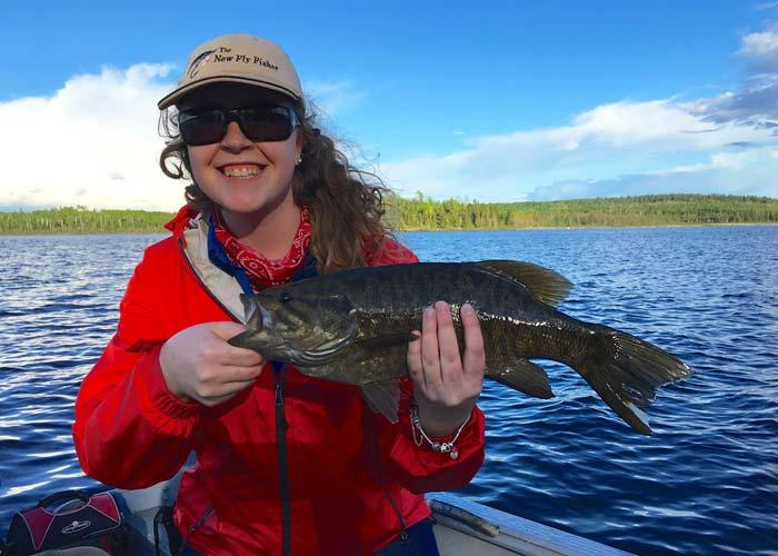 jenna mckeown smallmouth bass