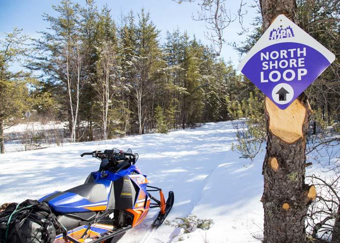 Five small canadian towns with a big snowmobile attitude for North shore motor works