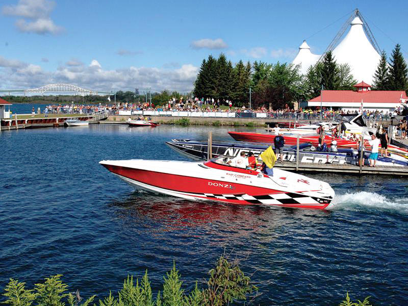 The Best Offshore Boating Event In Canada is Sault Ste