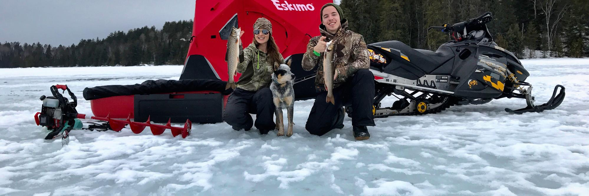 10 must try ice fishing lakes in ontario northern for Motor city ice hawks
